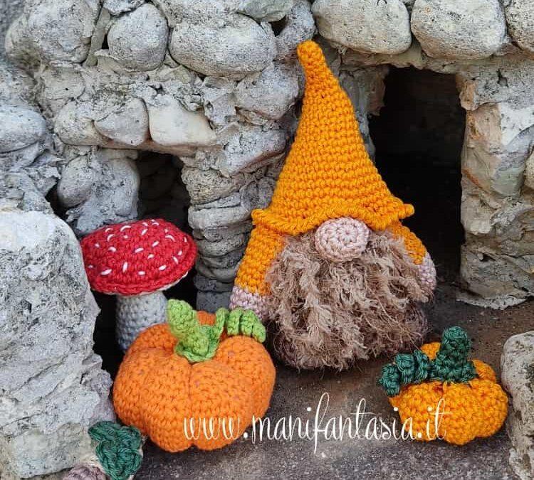 casa degli gnomi di autunno
