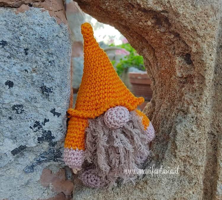 gnomo d'autunno crochet